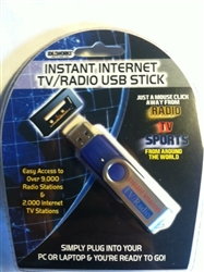 internet tv and radio usb stick
