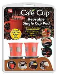 cafe cup reusable single serve pod