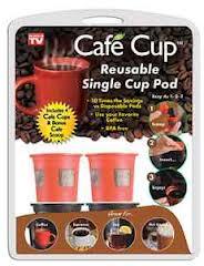 cafe cup reusable single serve pod