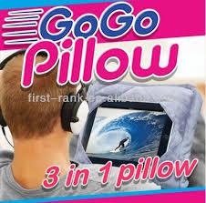 GoGo Pillow for Tablet