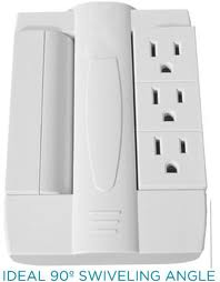 Side Socket Outlet Multiplier