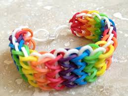 rubber band loom bracelet