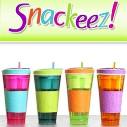 snackeez snack and drink in one cup