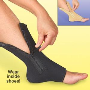 zipper ankel compression sleeve