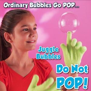 juggle bubbles don't pop