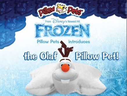 olaf pillow pet disney frozen