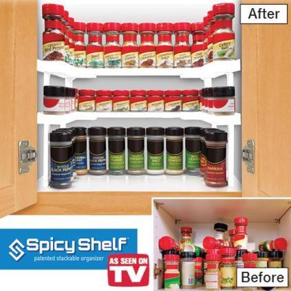 spicy shelf spice organizer