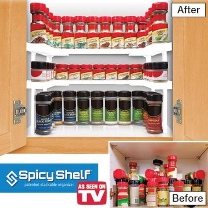 spicy shelf spice organizer