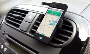 clever grip smartphone car mount clip