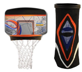 hamper hoops launder basketball basket as seen on tv wham o