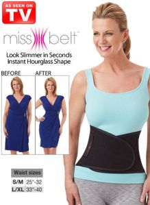 miss belt waist trainer as seen on tv